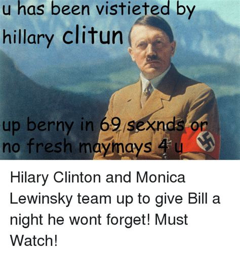 Lewinsky Meme Clinton Memes Of 2017 On Sizzle Bill Clinton