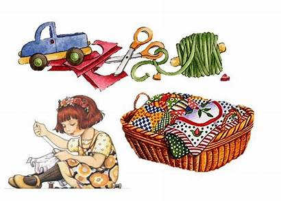 Sewing Clipart Costura Decoupage Notions Clip Crafts