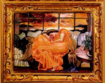 joni mitchell flaming june revisited paintings