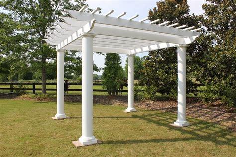 gazebo depot fiberglass pergola  columns