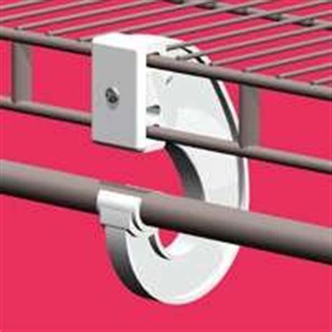 Closetmaid Rod Support - closetmaid superslide universal closet rod