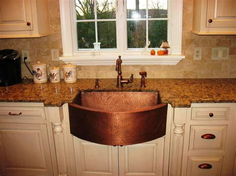 laundry room hanging bar copper farmhouse kitchen sink