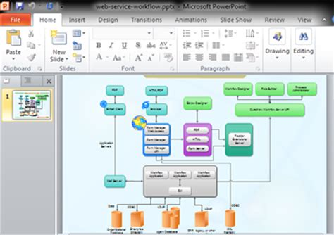 powerpoint workflow template workflow diagrams for powerpoint