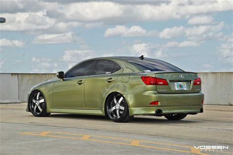 2012 lexus is 250 custom 2012 lexus is gets general rank with vossen rims