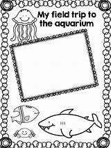 Kindergarten Aquarium Trip Field Memory Fun Scrapbook Template Books Teaching Homeschool Learning Activities Classroom Trips Tot Summer Teacherspayteachers Sold sketch template