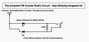 The Simplest Fm Crystal Radio