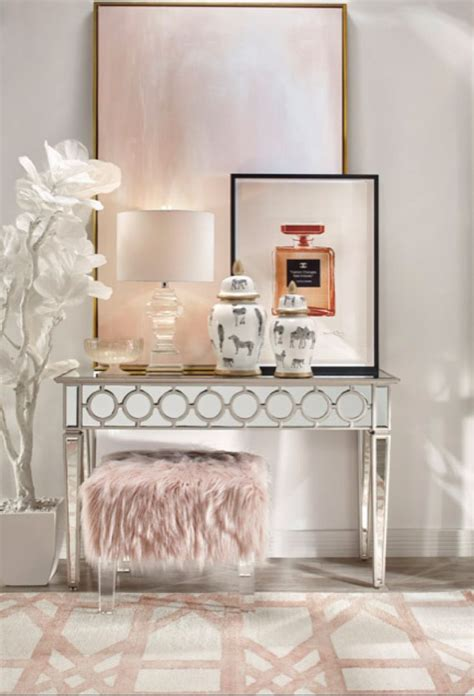 modern glam decor images  pinterest bedroom
