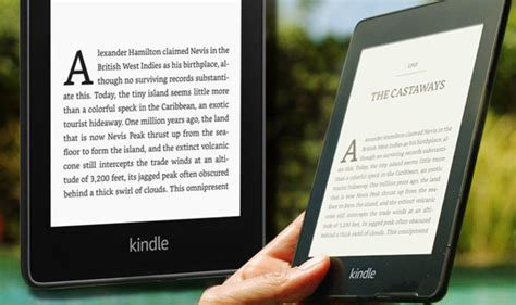 new kindle paperwhite uk price release features as reveals waterproof e reader