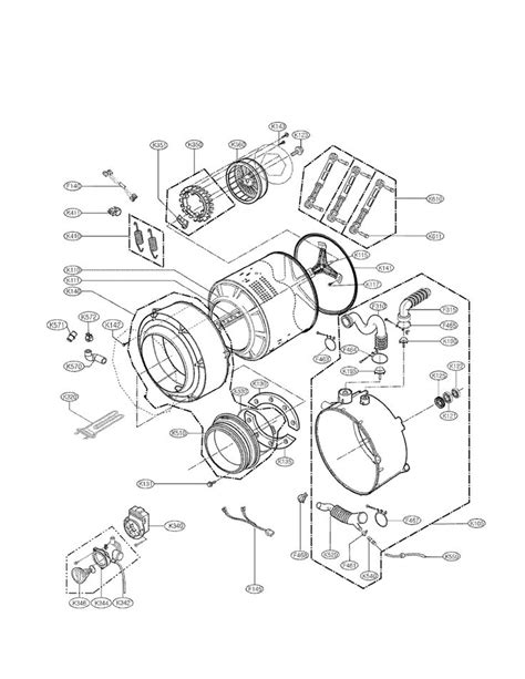 Kenmore Elite Washer Parts Diagram Automotive