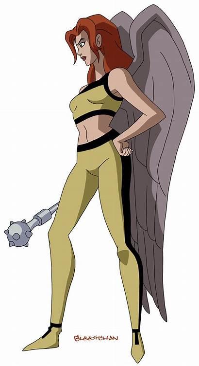 Hawkgirl Jlu Chan Glee Deviantart Dcau Deviant