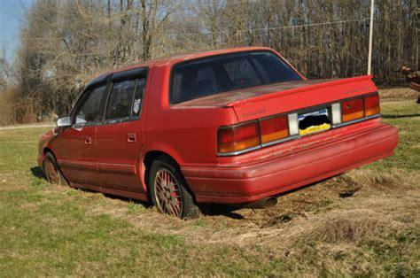 Dodge Spirit Turbo For Sale