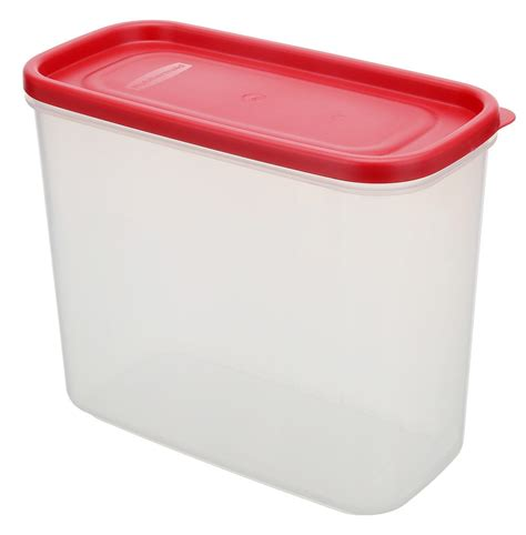 Rubbermaid Dry Food Storage Container, 8piece Set, Chili