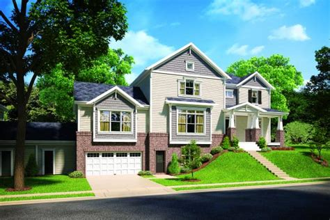 Larry W Garnett Home Design :  Multifamily For Single-family Builders