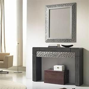 les 70 meilleures images du tableau meubles d39entree With wonderful meuble entree avec miroir 6 console entree contemporaine miroir style scandinave bois