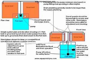 Di System  Aquaponics Settling Tank Info