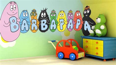 chambre barbapapa décoration chambre barbapapa