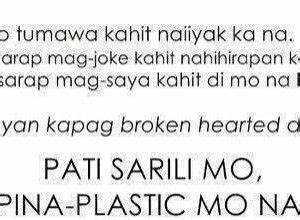 love-quotes-tagalog-patama-sa-crush | secret | Pinterest ...