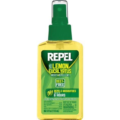 lemon repel mosquitoes repel lemon eucalyptus pump walmart com