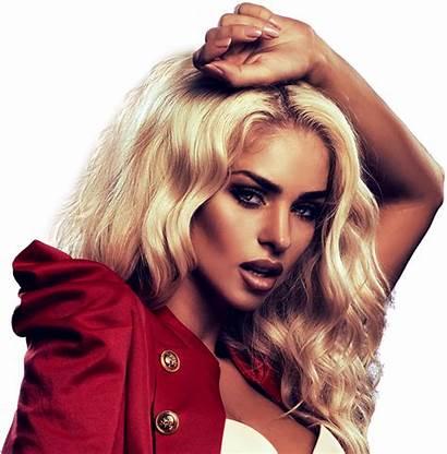 Salon Jem Makeup Woman Blonde Scissors Services