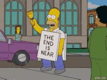 Homer Simpson The End Is Near GIFs   Tenor