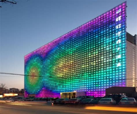 Led Light Design: Incredible Colour LED Art Light Picture