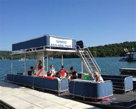 Fishing Boat Rentals Tennessee by Norris Lake Pontoon Boat Rentals With Water Slide