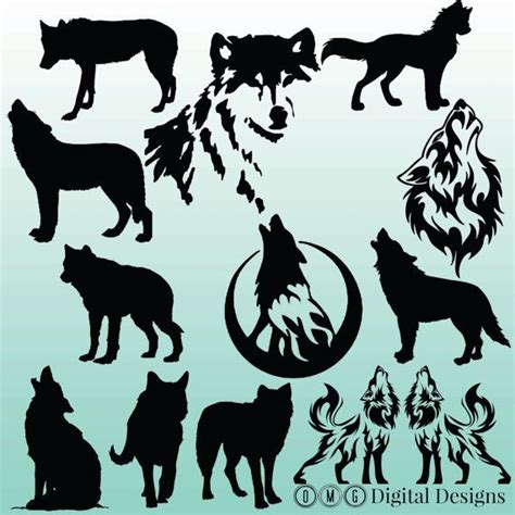 ideas  small wolf tattoo  pinterest