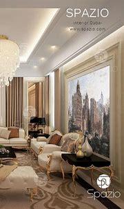 A luxury Arabic majlis interior design in Dubai the UAE ...
