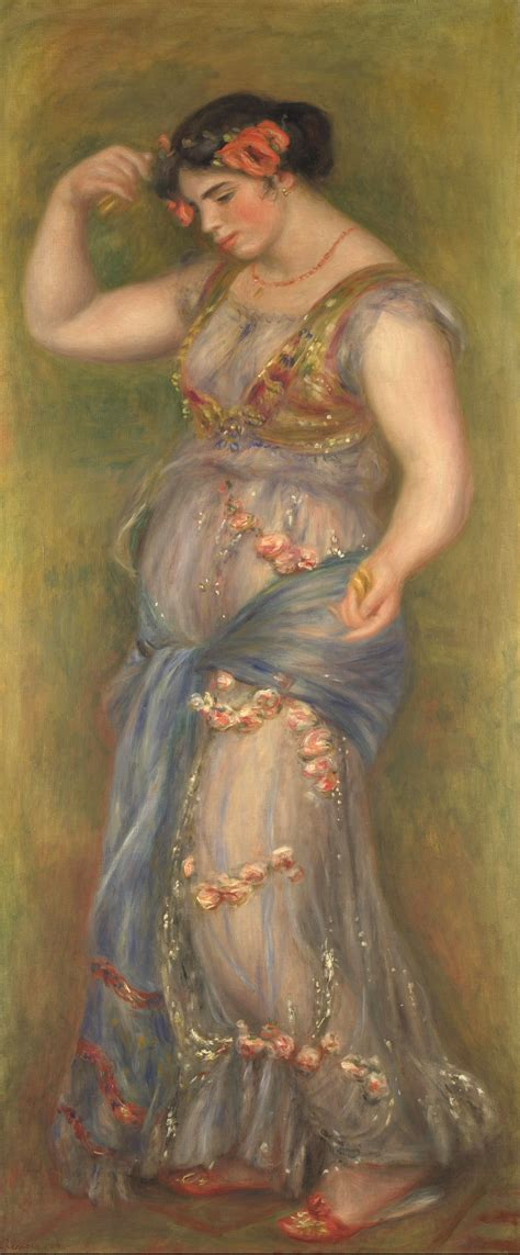 Filepierre Auguste Renoir Dancing Girl With Castanets