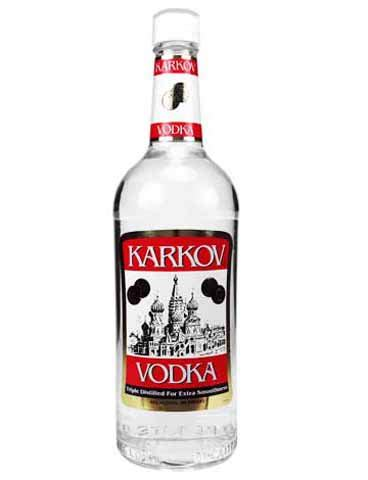 cheap vodka karkov vodka reviews and ratings proof66 com vodka grain liquor reviews spirits reviews