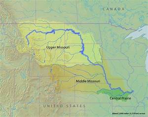 map of missouri river