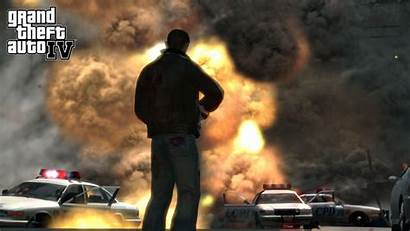 Theft Grand Wallpapers Gta Iv Games 1080