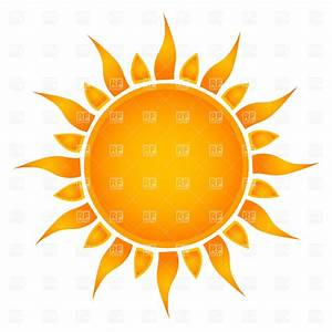 Simple sun, 22709, Objects, download Royalty free vector ...