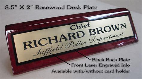 custom desk nameplates