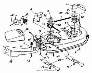 Mtd 13as679g062  1999  Parts Diagram For Deck Assembly  U0026quot G U0026quot