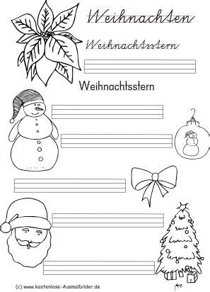 ausmalbilder weihnachten malvorlagen