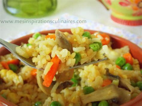 cuisiner comme un chef riz façon asiatique facile recette vegetarienne le