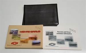 2000 Chevrolet Monte Carlo Owners Manual User Guide Ls Ss