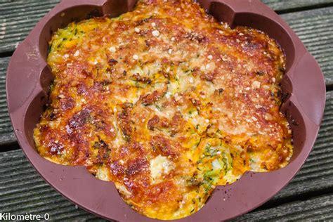 recette cuisine facile rapide clafoutis de courgettes et carottes kilometre 0 fr