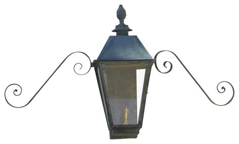 magnolia large copper wall mount single candelabra lantern