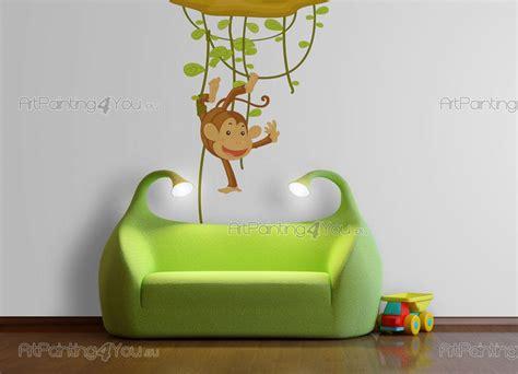 Wandtattoo Kinderzimmer Affen by Wandtattoo Wandsticker Kinderzimmer Affen Dschungel 1168de