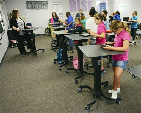 standing desks for students don t take a seat flagler schools start adapting