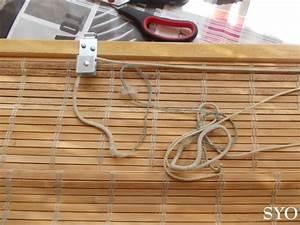Fabriquer Un Store Enrouleur : store enrouleur bois tiss store banne motoris borneo avec ~ Premium-room.com Idées de Décoration