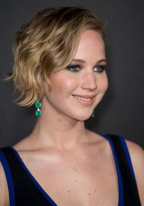 Jennifer Lawrence At The Hunger Games Mockingjay Part 1