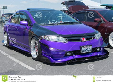 Honda Civic Si Editorial Photography. Image Of Performance