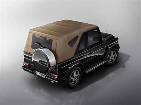 mercedes jeep convertible mercedes g class cabriolet goes out of production