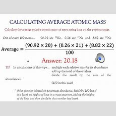 Atomic Mass Is Not A Whole Number  Ppt Video Online Download