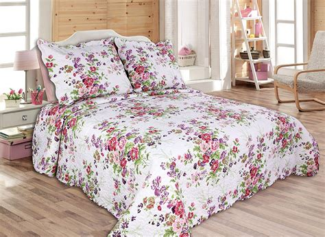 King Size Coverlets And Quilts by 3 Reversible Coverlet Quilt Set Bedspread King