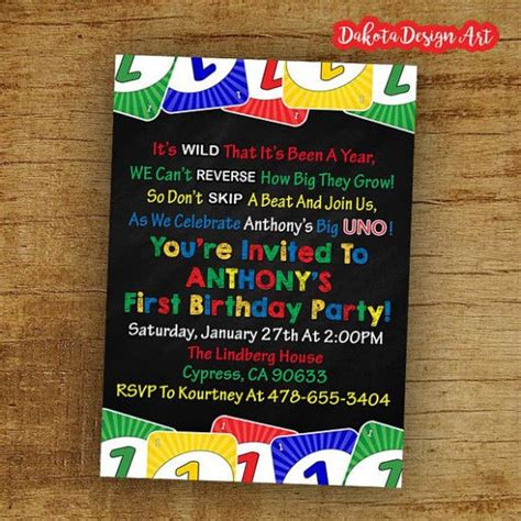 Five Benefits Of Uno Birthday Invitation Template That May