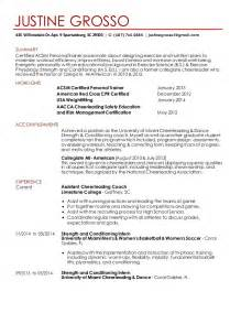cheer coach resume cover letter justine grosso resume 2015